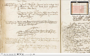 Notary record, Leiden, May 1644, recording marriage of Helena Jans vander Stroom to Jan van Wel.