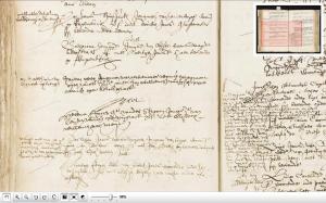 Notary record, Leiden, May 1644, recording marriage of Helena Jans vander Stroom to Jan van Wel.