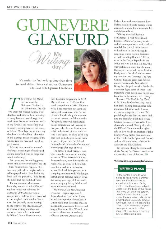 Writing Magazine, February