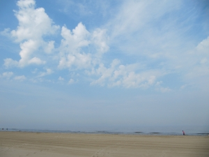 the beach at Egmond aan Zee