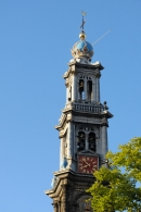 Westerkerk tower - climb it, it is well worth the effort for the view!