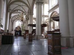Inside Westerkerk.