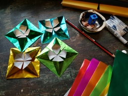 origami, thinking time