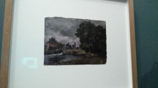 Constable oil sketch, 1816. V&A.