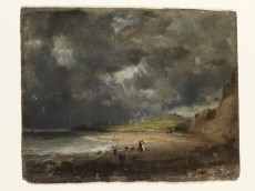 Weymouth Bay, Constable, October 1816.