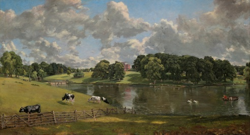 Wivenhoe Park, Constable, July 1816.