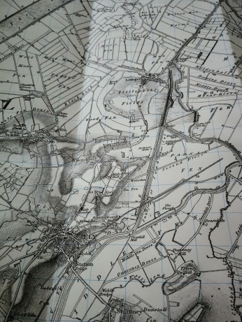 Early 19thc Littleport map.