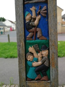 Littleport village sign.